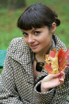 Free Autumn Woman 28 Royalty Free Stock Photos - 3460828
