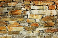 Free Stone Wall Royalty Free Stock Photo - 3461215