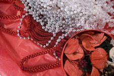 Christmas Decoration Setup Royalty Free Stock Photo