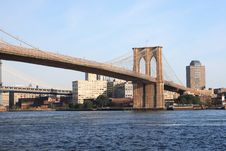 Free Brooklyn Bridge Stock Photo - 3461690