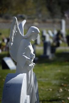 Free Angel Statue Stock Photography - 3462292