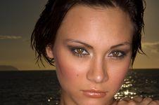 Free Sexy Girl Portrait Stock Image - 3463251