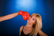 Free Boxing Pose Stock Photography - 3463482