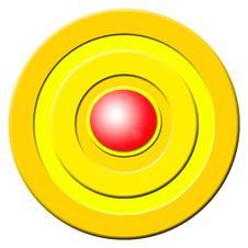 Free Red Buzzer Button Stock Photography - 3463742