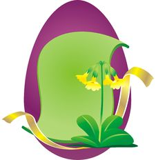 Free Easter Egg BG Primrose Royalty Free Stock Photo - 3463895