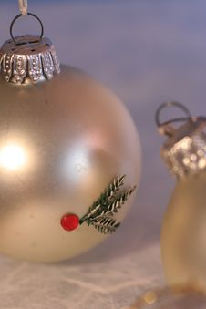 Free Christmas Baubles Royalty Free Stock Photo - 3464075