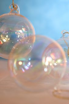 Free Glass Spheres Royalty Free Stock Photography - 3464087