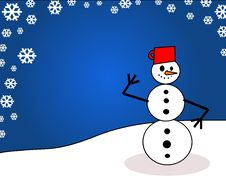 Free Snowman Stock Photo - 3464630