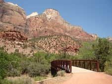 Pa Rus Trail - Zion Stock Images