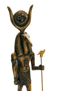 Free Egyptian Statue Stock Image - 3464851