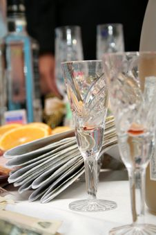 Free Glasses For Drink Royalty Free Stock Photo - 3465135