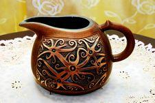 Tea Pot Vase Stock Image