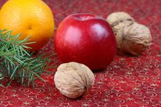 Free Christmas Still Life Royalty Free Stock Photos - 3465548