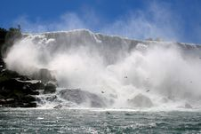Free The Drama Of Niagara Falls Stock Photos - 3465913
