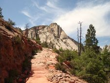 Free West Rim Trail Royalty Free Stock Photos - 3466038