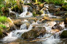 Free Mountain Stream Royalty Free Stock Image - 3466356