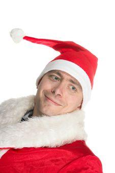 Free Mad Santa Stock Photography - 3466592