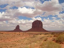 Free East Mitten Butte And Merrick Stock Photography - 3467242
