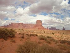 Free Monument Valley Royalty Free Stock Photos - 3467318