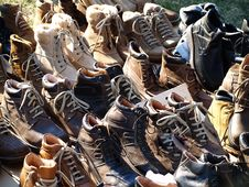 Free Boots Stock Photography - 3468002