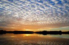 Free Sunset At Dobbeplas Stock Photo - 3468230