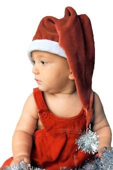Free Santa Baby Royalty Free Stock Photos - 3468558