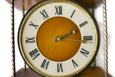 Old-fashioned Clock Stock Photo