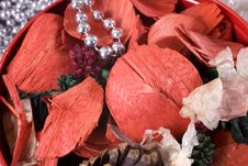 Christmas Decoration Setup Royalty Free Stock Photos