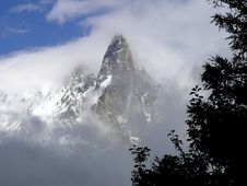 Free Mont Blanc Region Royalty Free Stock Images - 3469289