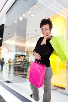 Free Woman Shopping Stock Photography - 3469422