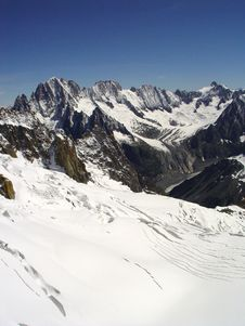 Free Mont Blanc Region 3 Royalty Free Stock Photo - 3469485