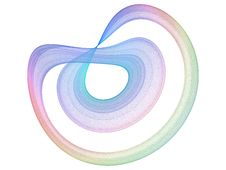 Abstract Swirl Design Stock Photography