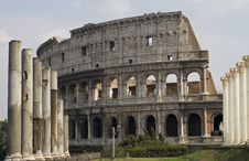 Free Colosseo Royalty Free Stock Photography - 3469737