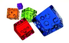 Free Candy Dice Royalty Free Stock Photos - 3469828