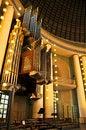 Free Church Pipes Organ Royalty Free Stock Images - 34600349