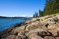 Free Rocky Coastline On Maine Stock Photo - 34600570