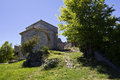 Free Église Saint Nicolas And Castle Archway, Bargeme. Royalty Free Stock Photo - 34600965