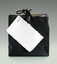 Free Black Paper Bag Stock Photography - 34602142