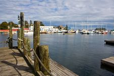Free Fishing Harbor Royalty Free Stock Photography - 34600457