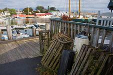 Fishing Harbor Royalty Free Stock Photo
