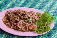 Free Spicy Minced Pork Royalty Free Stock Images - 34601829