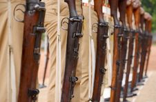 Free Gun Parade Stock Photos - 34602903