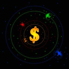 Free Forex Galaxy Stock Photo - 34602980