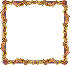 Free Abstract Geometric Frame Stock Photo - 34605210