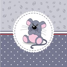 Free Little Mouse Baby Royalty Free Stock Photo - 34609855