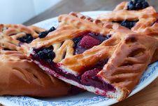 Free Berry Pie Stock Photography - 34609922