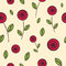 Free Roses Seamless Pattern Stock Photography - 34600742
