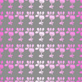 Free Seamless Pattern With Flowers On A Grey Background Stock Photos - 34613933
