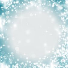 Free Abstract Christmas Background Of Holiday Lights Royalty Free Stock Image - 34610186