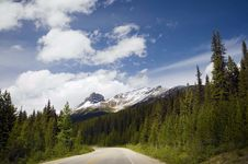 Free Road To Jasper Stock Image - 34612171